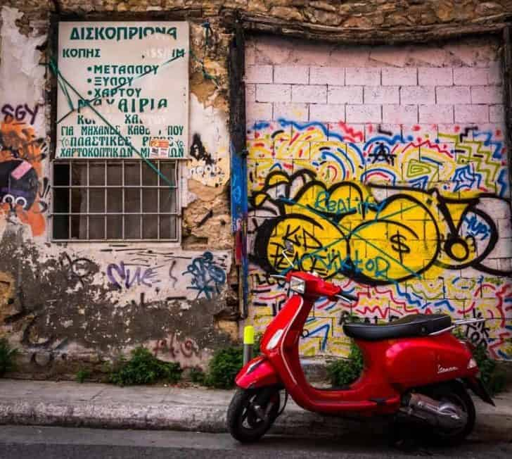 Street Scenes Of Athens