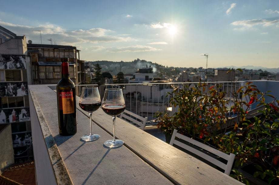 Rooftop Terrace Best Accommodation In Athens Live In Athens Short Stay Apartments