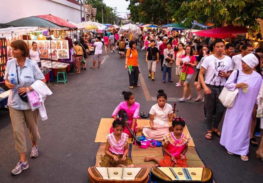 Sunday Walking Street Market 10 Things To Do In Chiang Mai