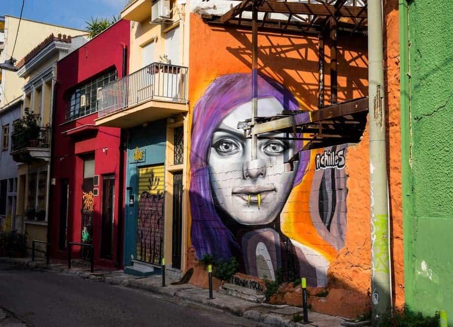 Vampire Girl Street Scenes Of Athens