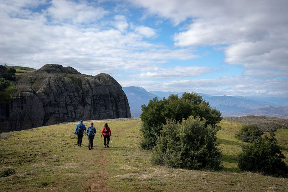 Hiking Tour Of Meteora Monasteries