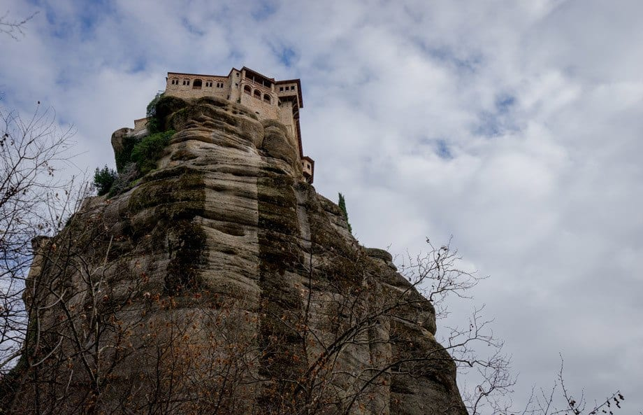 High Hiking Tour Of Meteora Monasteries