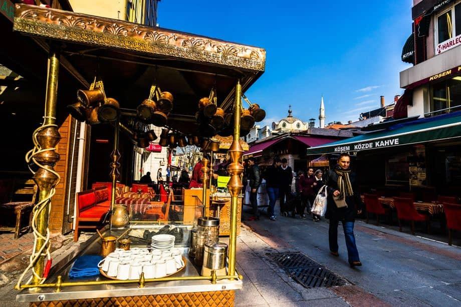 Tea Stall Istanbul