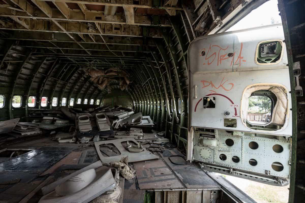 747 Interior Bangkok's Airplane Graveyard