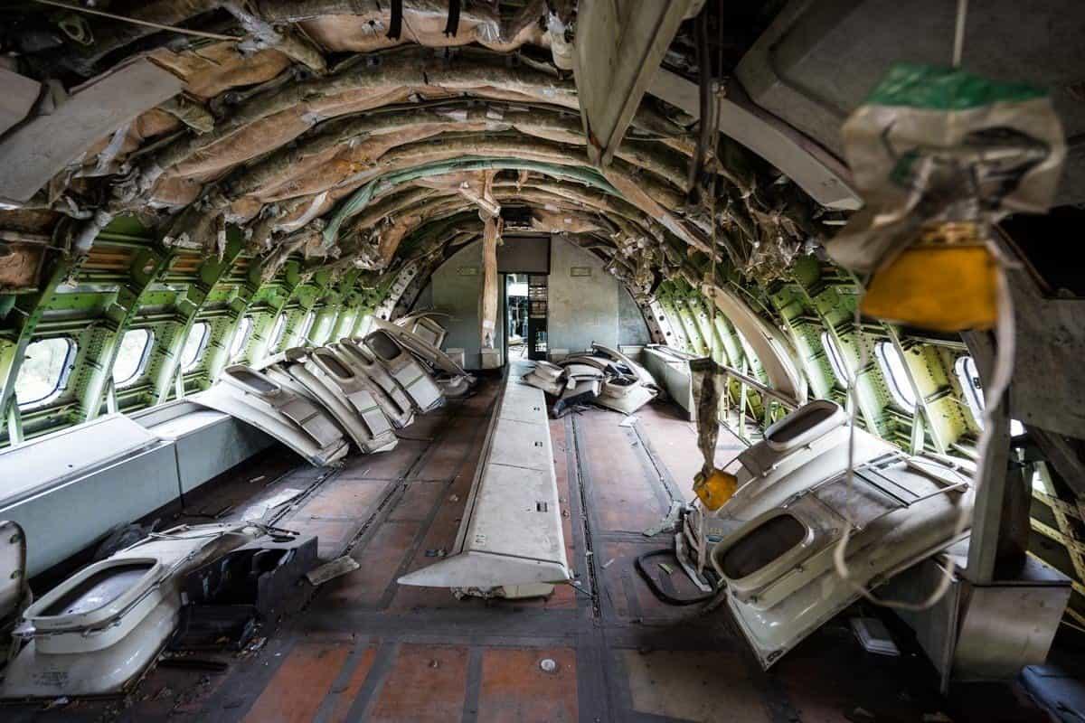 Top Level Bangkok's Airplane Graveyard