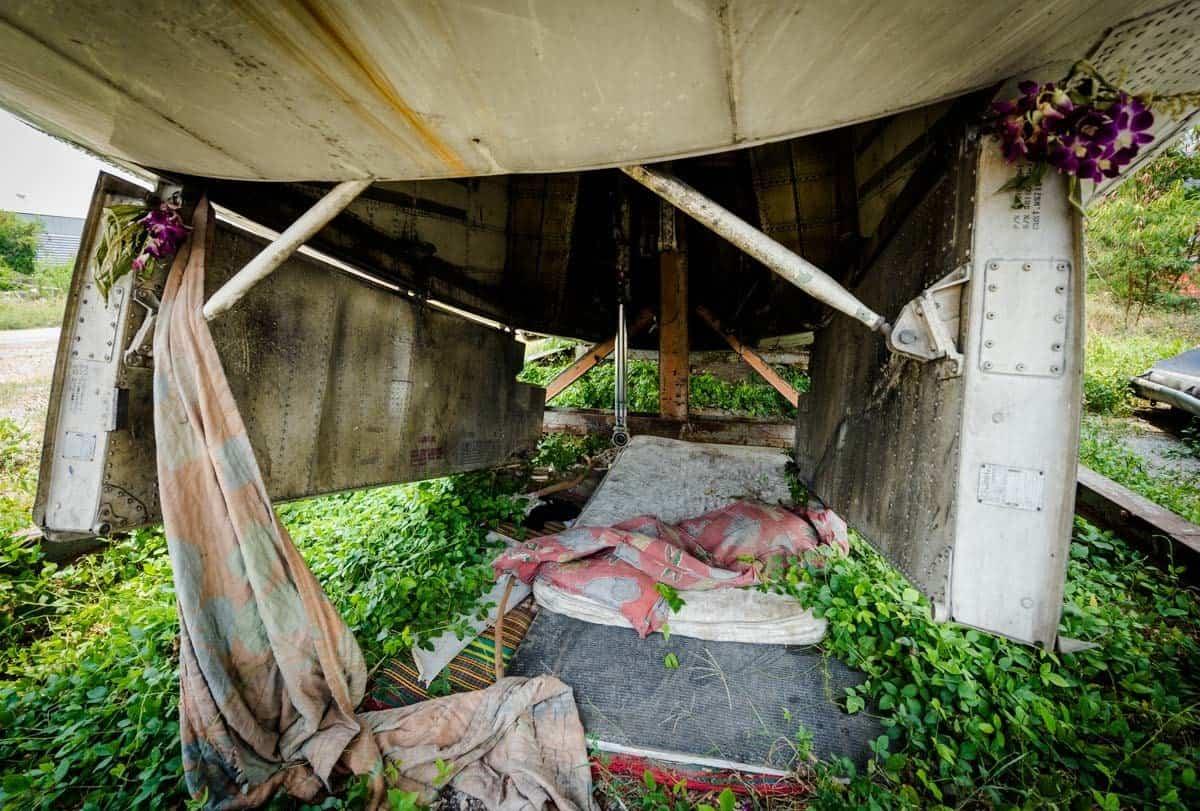 Bed Bangkok's Airplane Graveyard