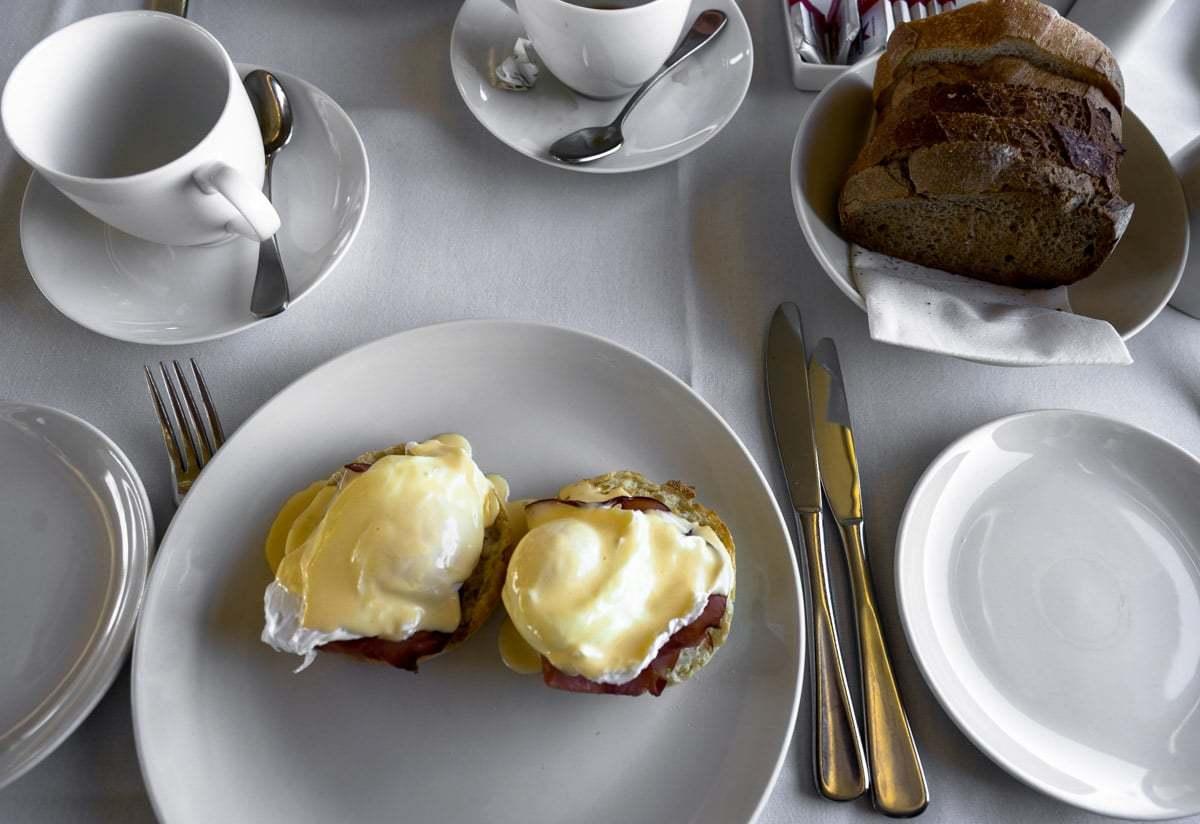 Breakfast Indian Pacific Rail Journey #Journeybeyond