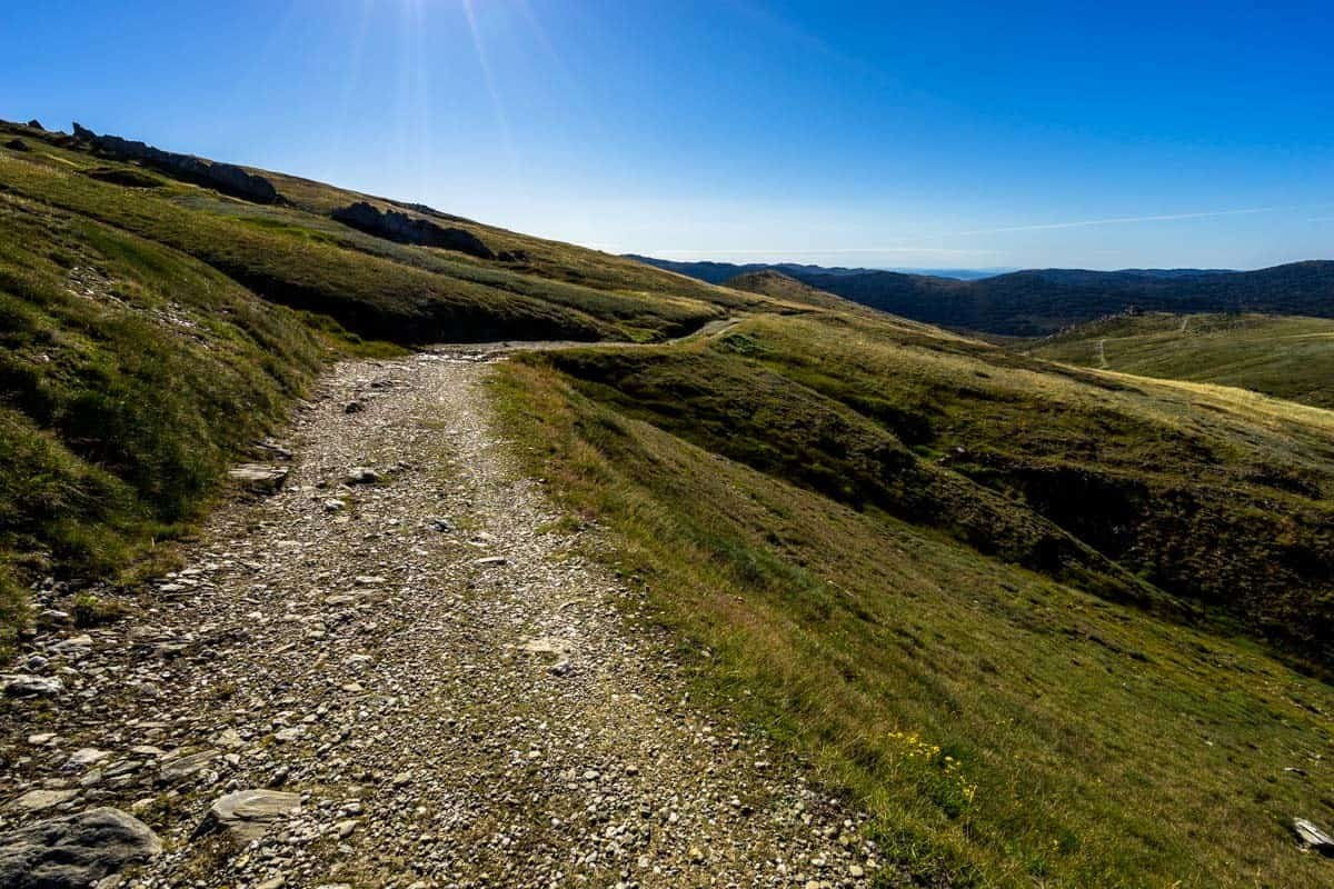 Main Range Walk Trail Climbing Mount Kosciuszko