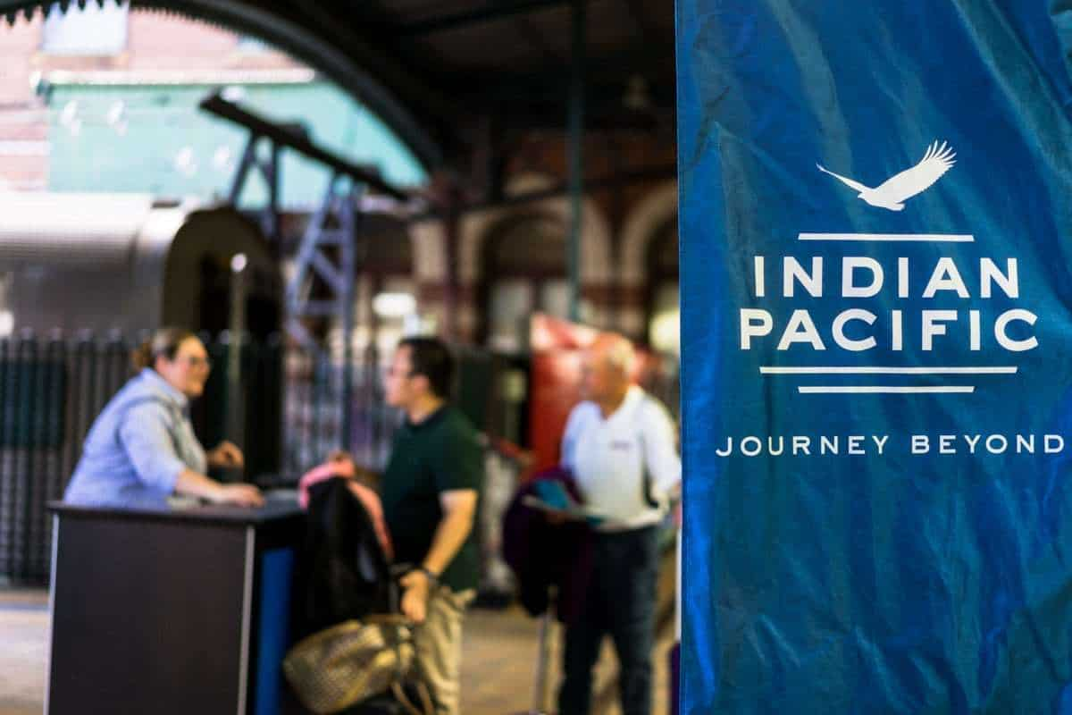 Ip Banner Central Station Indian Pacific Rail Journey #Journeybeyond