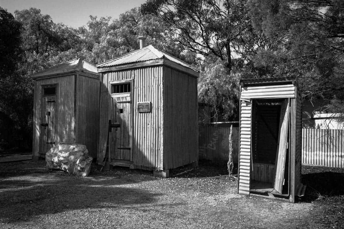 Cook Jailhouse Indian Pacific Rail Journey