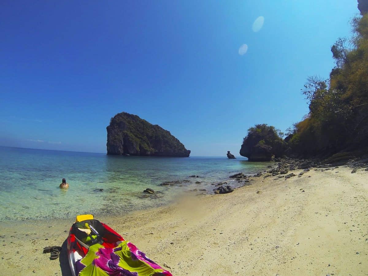 Kayaking Tonsai