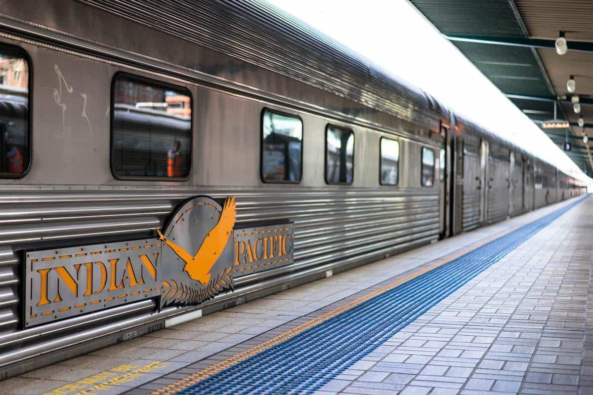 Central Station Indian Pacific Rail Journey