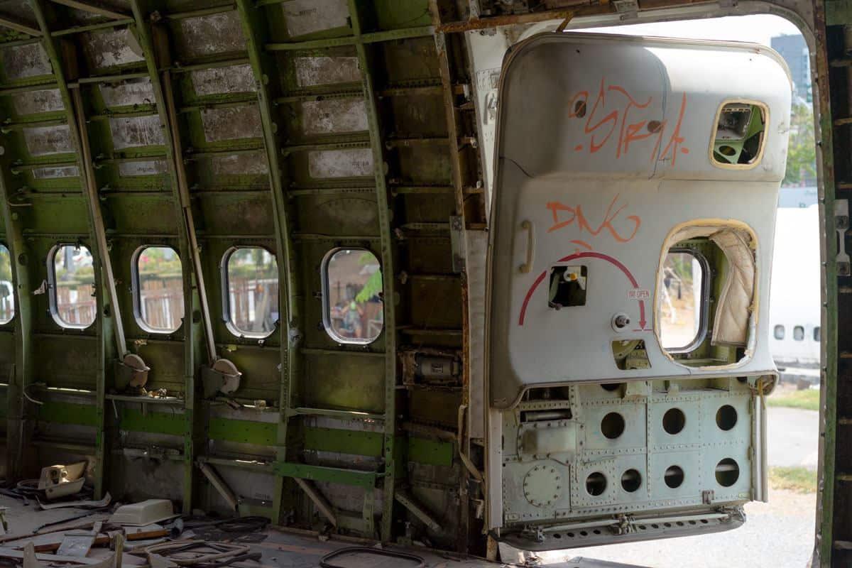 Open Door Bangkok's Airplane Graveyard