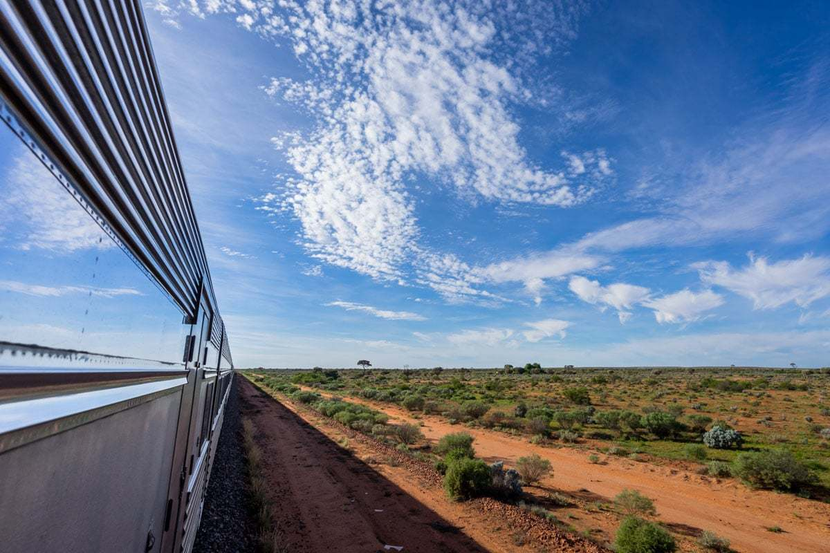Feature Indian Pacific Rail Journey