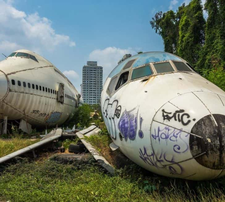 How to Visit Bangkok's Airplane Graveyard