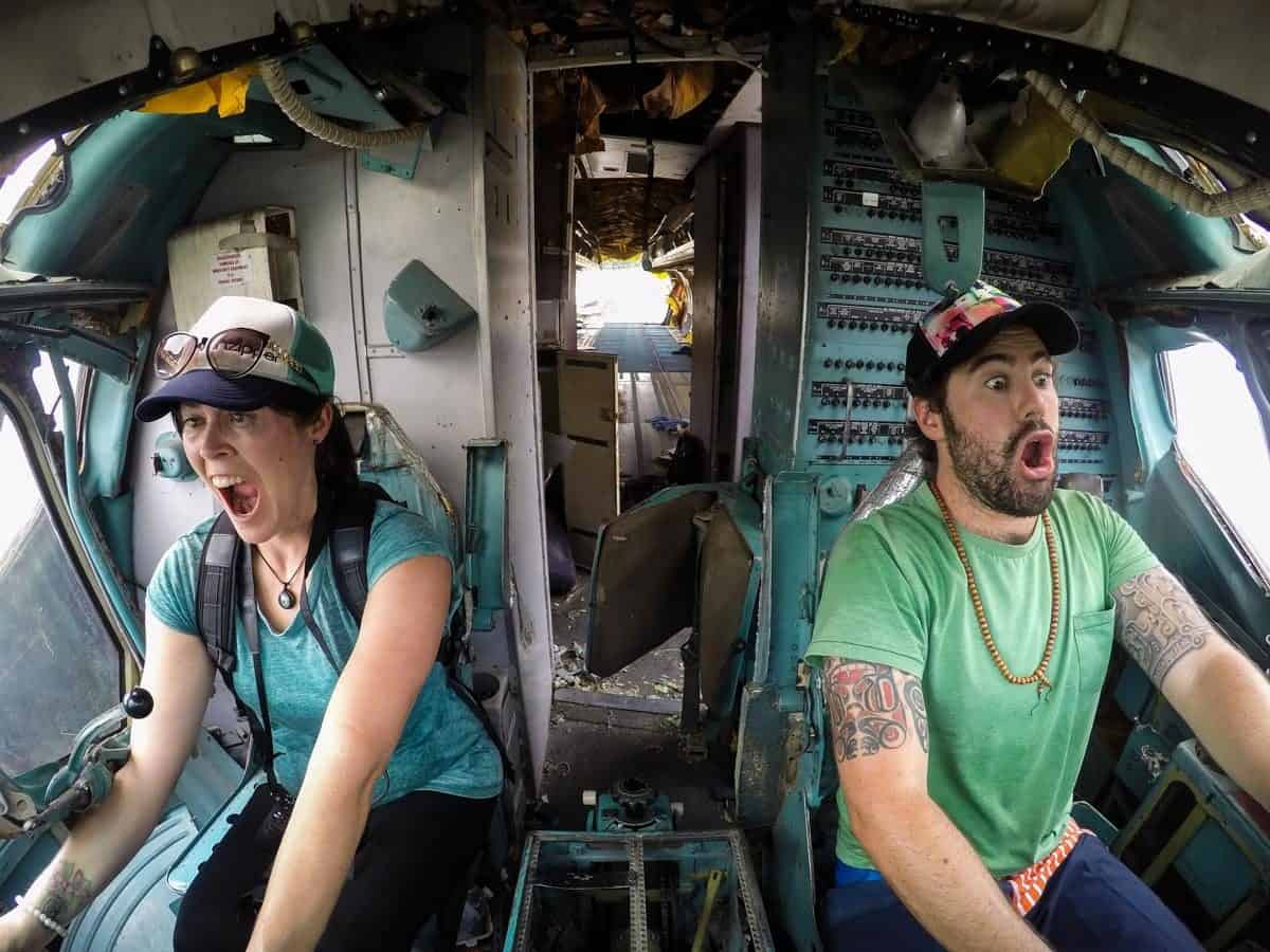 Alesha And Jarryd MD-82 Cockpit
