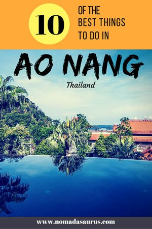 10 Things to do in Ao Nang, Thailand
