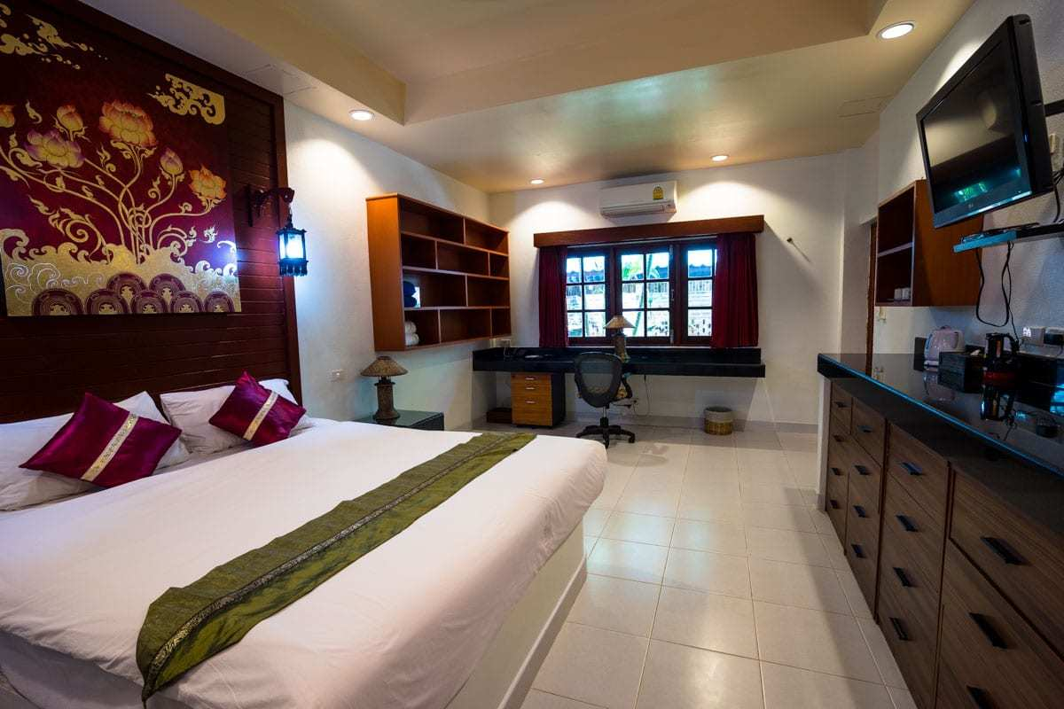 Bedroom Friendship Beach Resort Atmanjai Wellness Spa Detox In Thailand