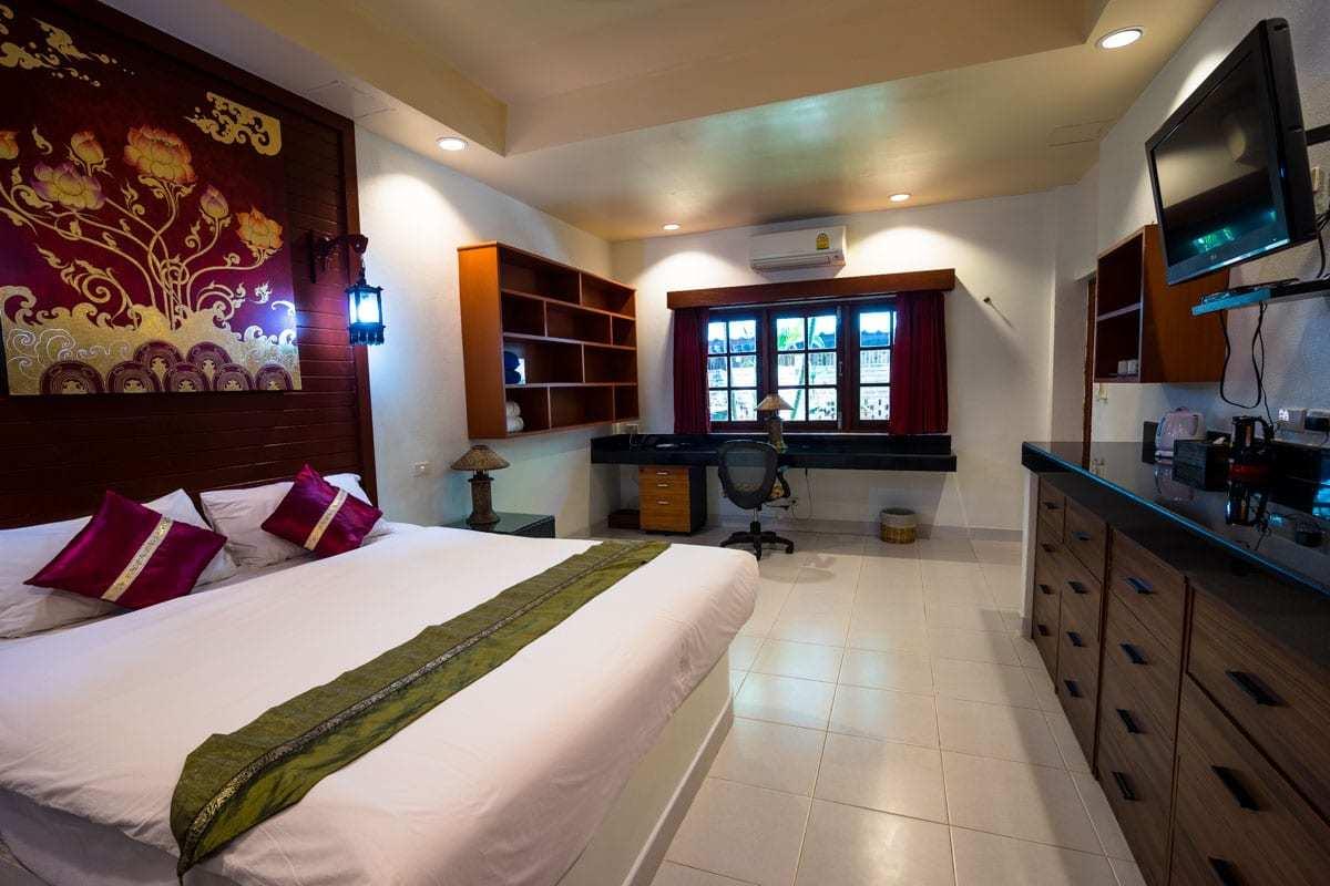 Bedroom Friendship Beach Resort Atmanjai Wellness Spa Detox In Thailand