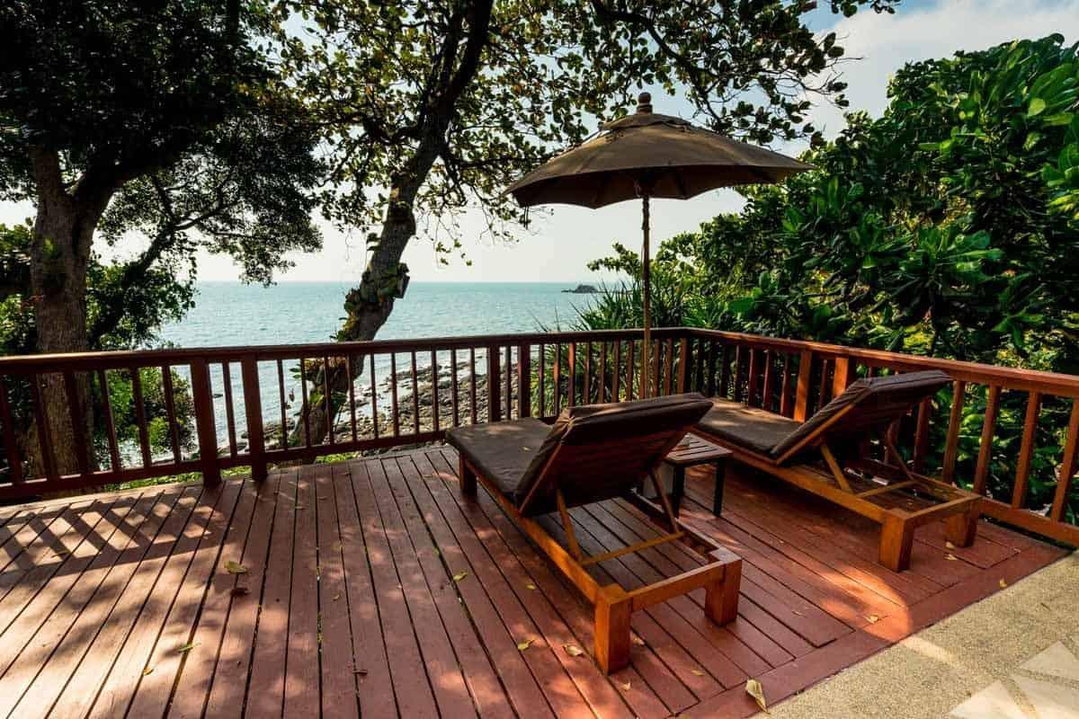 Balcony Crown Lanta Resort And Spa Best Luxury Hotel In Koh Lanta