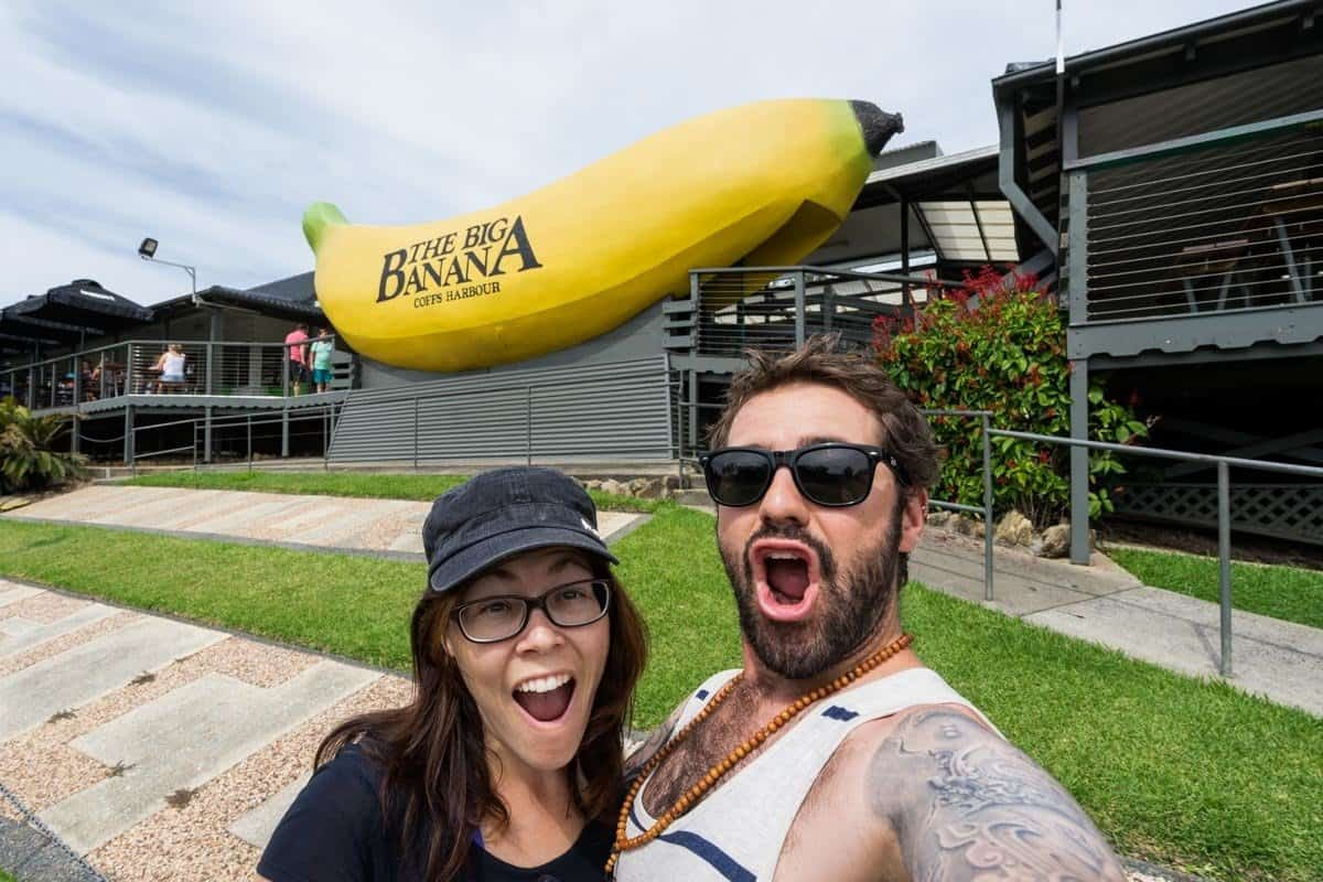 Big Banana Coffs Harbour New South Wales Road Trip