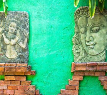 Buddha Face Atmanjai Wellness Spa Detox In Thailand