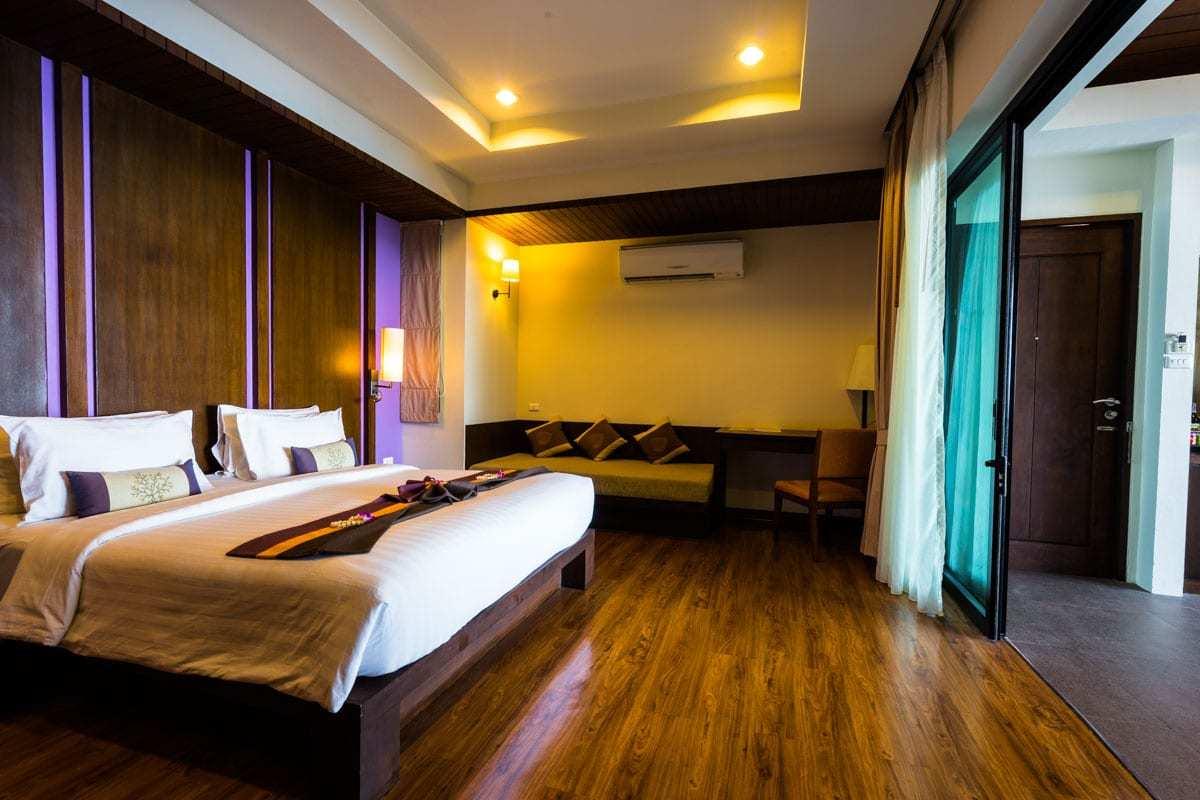 Bedroom Crown Lanta Resort And Spa Best Luxury Hotel In Koh Lanta