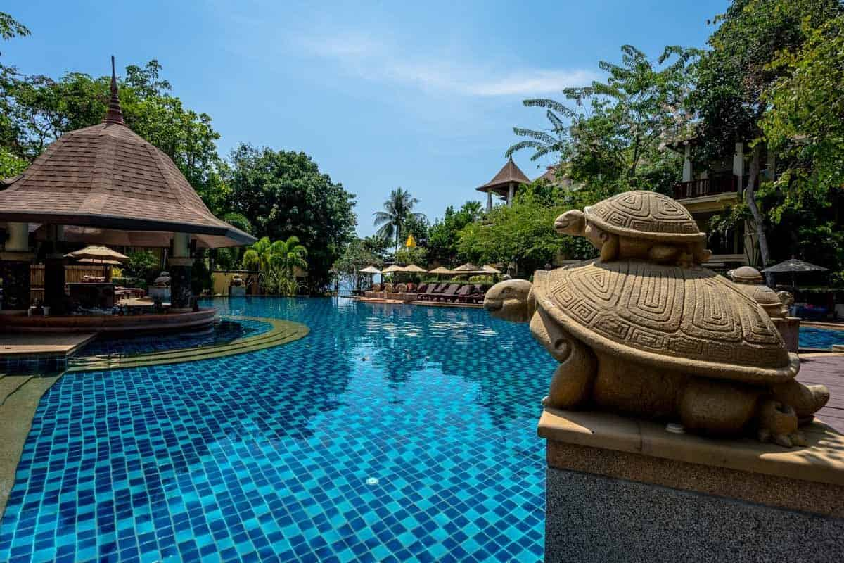 Pool Crown Lanta Resort And Spa Best Luxury Hotel In Koh Lanta