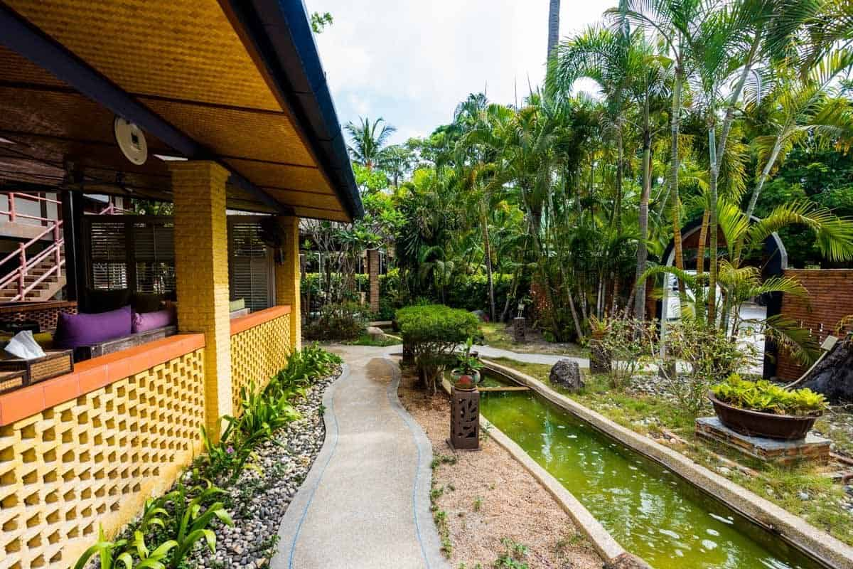 Friendship Beach Resort Atmanjai Wellness Spa Detox Thailand