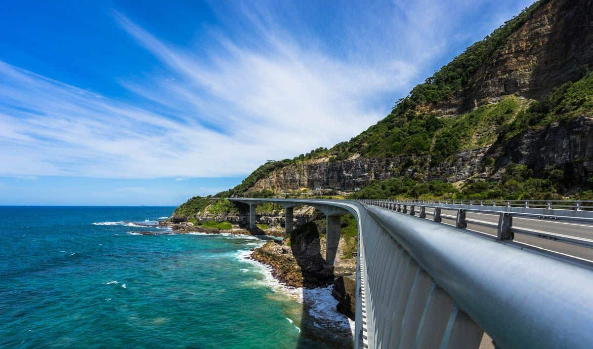 Sea Cliff Bridge New South Wales Road Trip