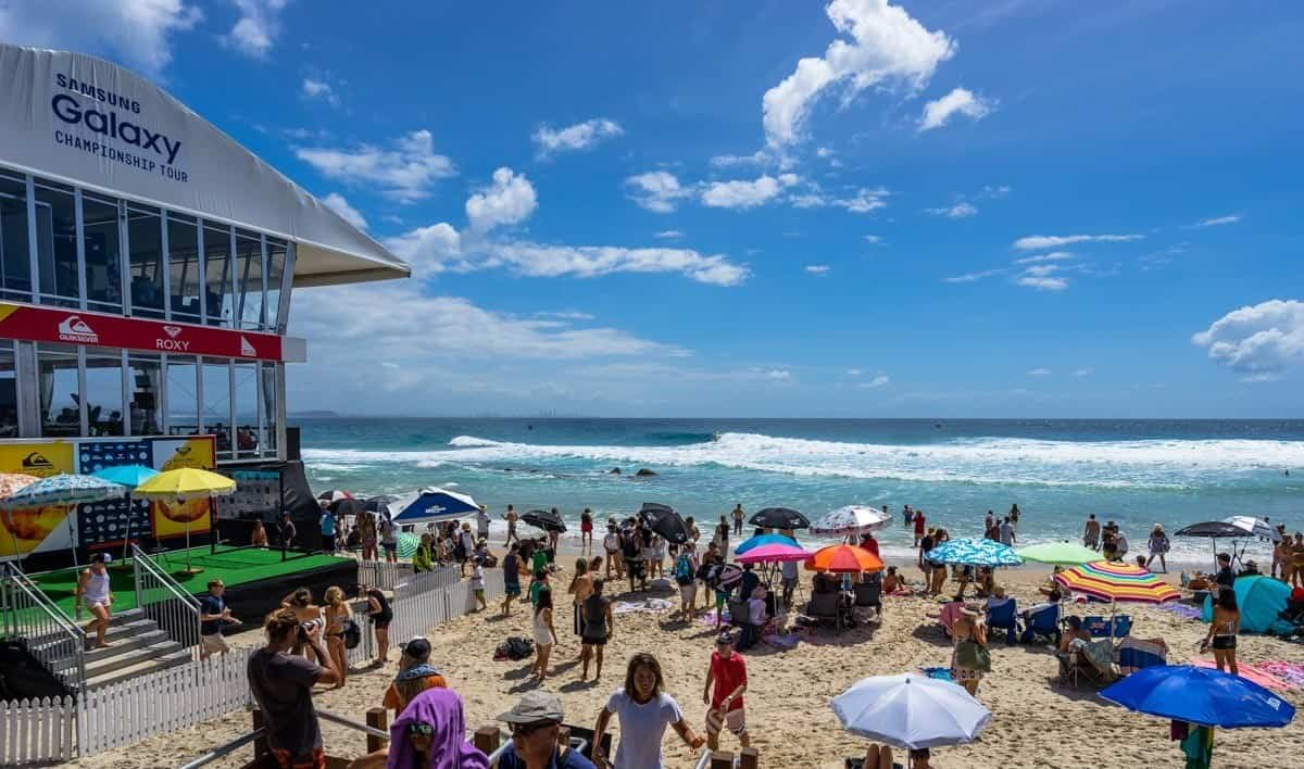 Snapper Rocks Quiksilver Pro New South Wales Road Trip
