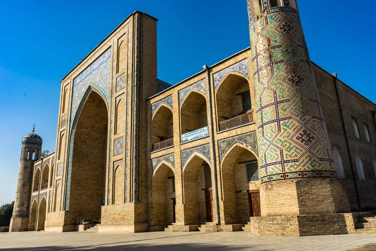 Kukeldash Madrassa Uzbekistan Photography