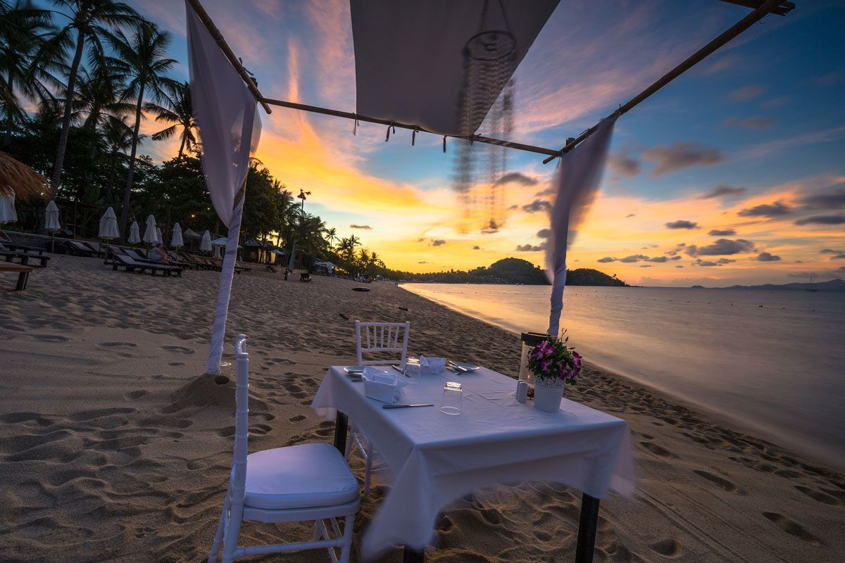 Dining By The Sea Peace Resort Samui Hotel Review
