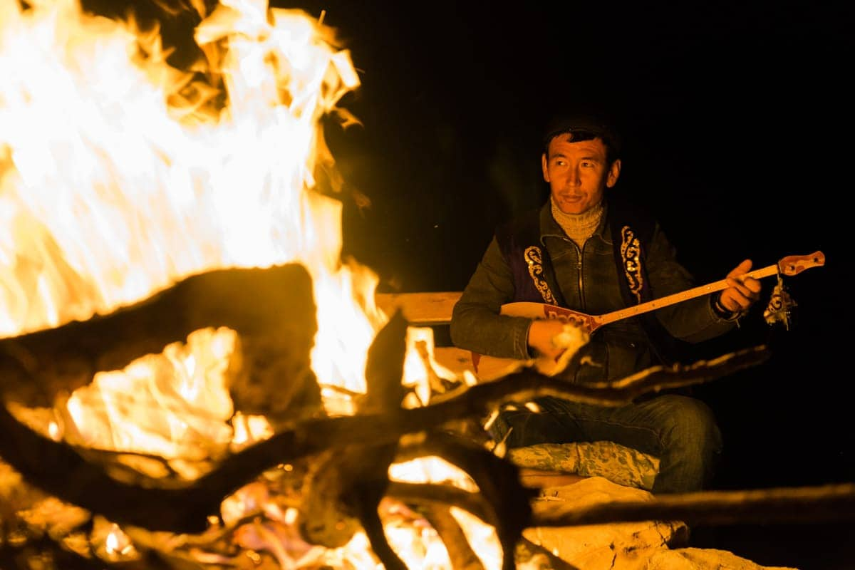 Fire Concert Uzbekistan Photography