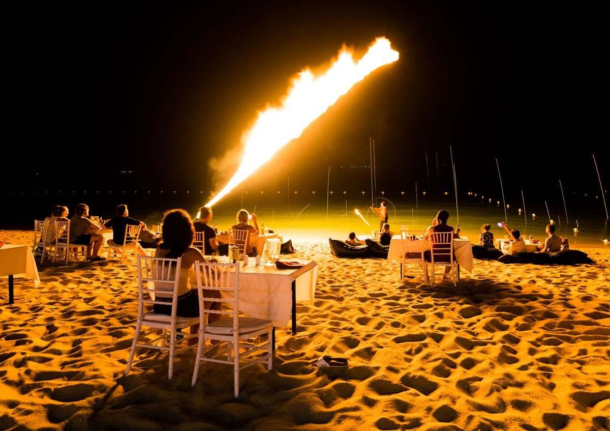 Fire Show Peace Resort Samui Hotel Review