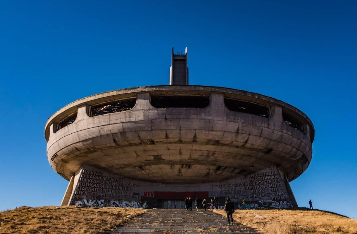 Buzludzha Monument Bulgarian Communist Party Headquarters Ufo