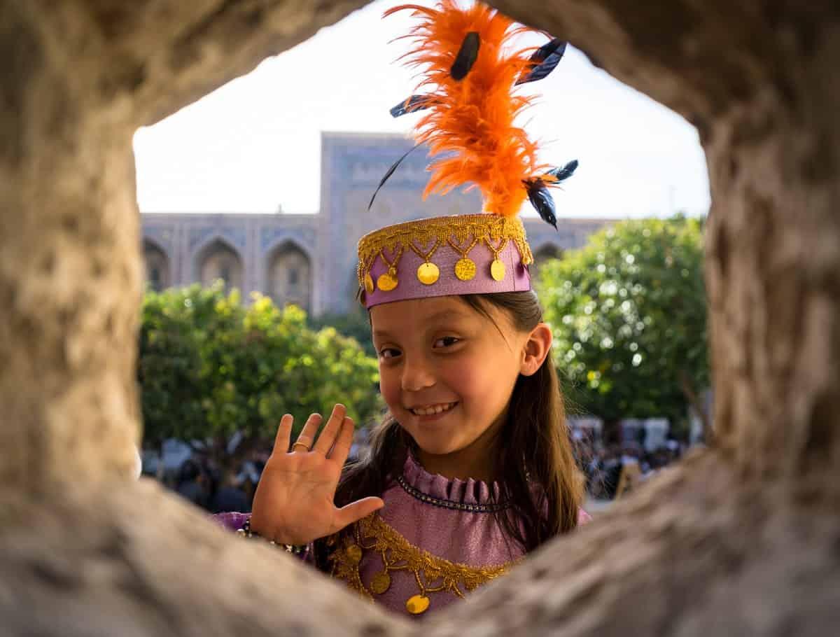 Young Girl Uzbekistan Photography