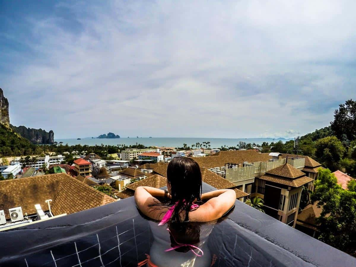 Infinity Pool Ao Nang Cliff Beach Resort Review
