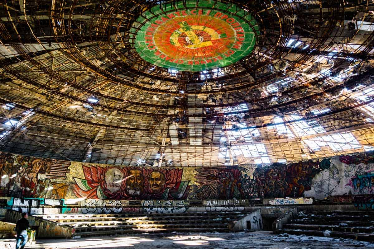 Exploring Bulgarias Ufo The Buzludzha Monument on Us History Exploration