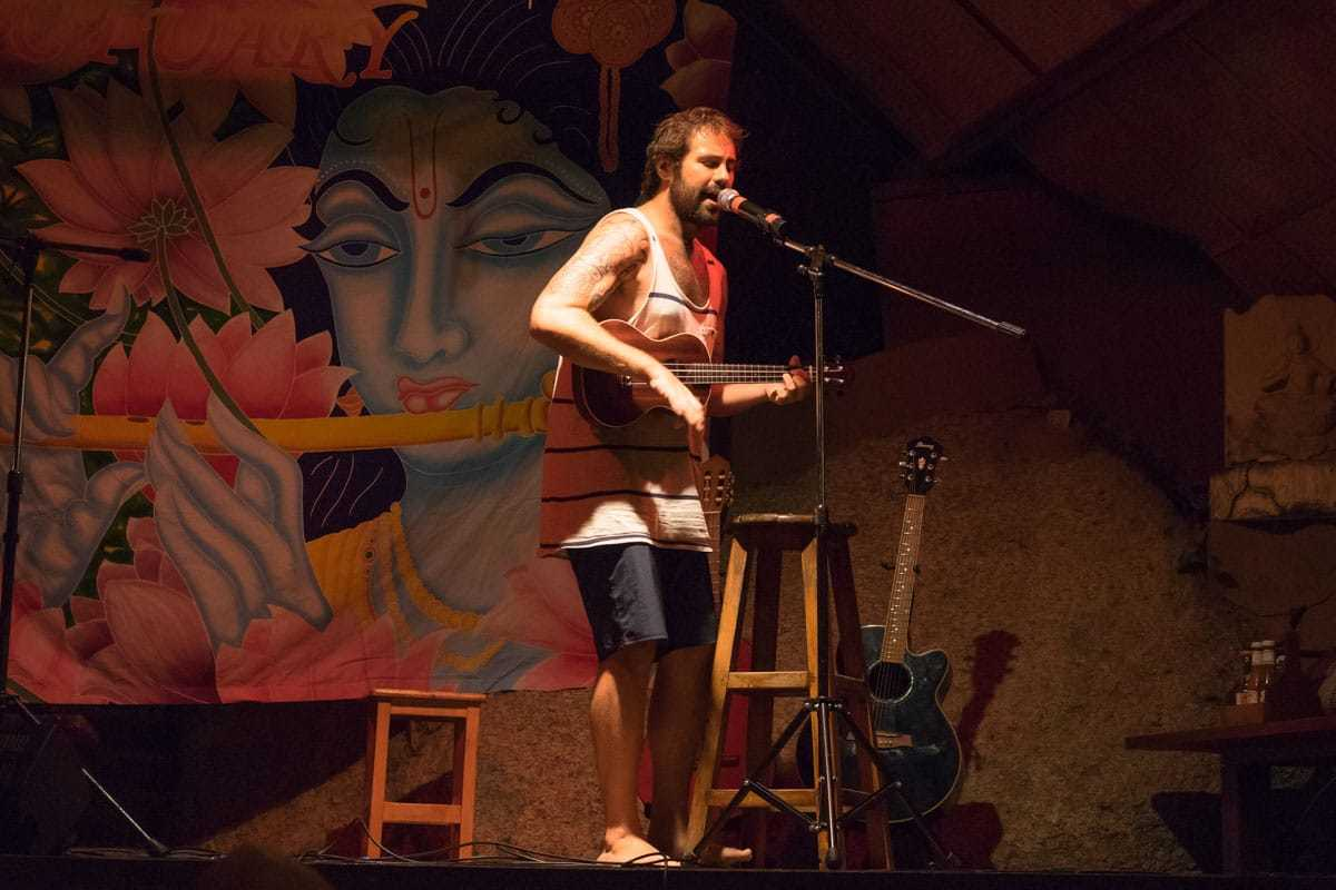 Jarryd Salem Open Mic Night The Sanctuary Koh Phangan Yoga Retreat