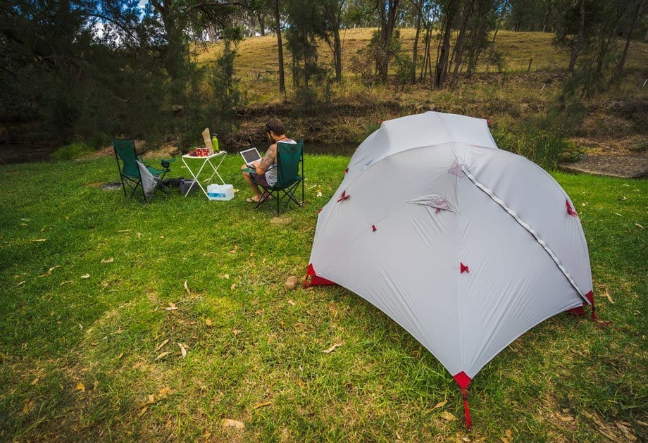 Working Camping 5 Ways You Can Travel More