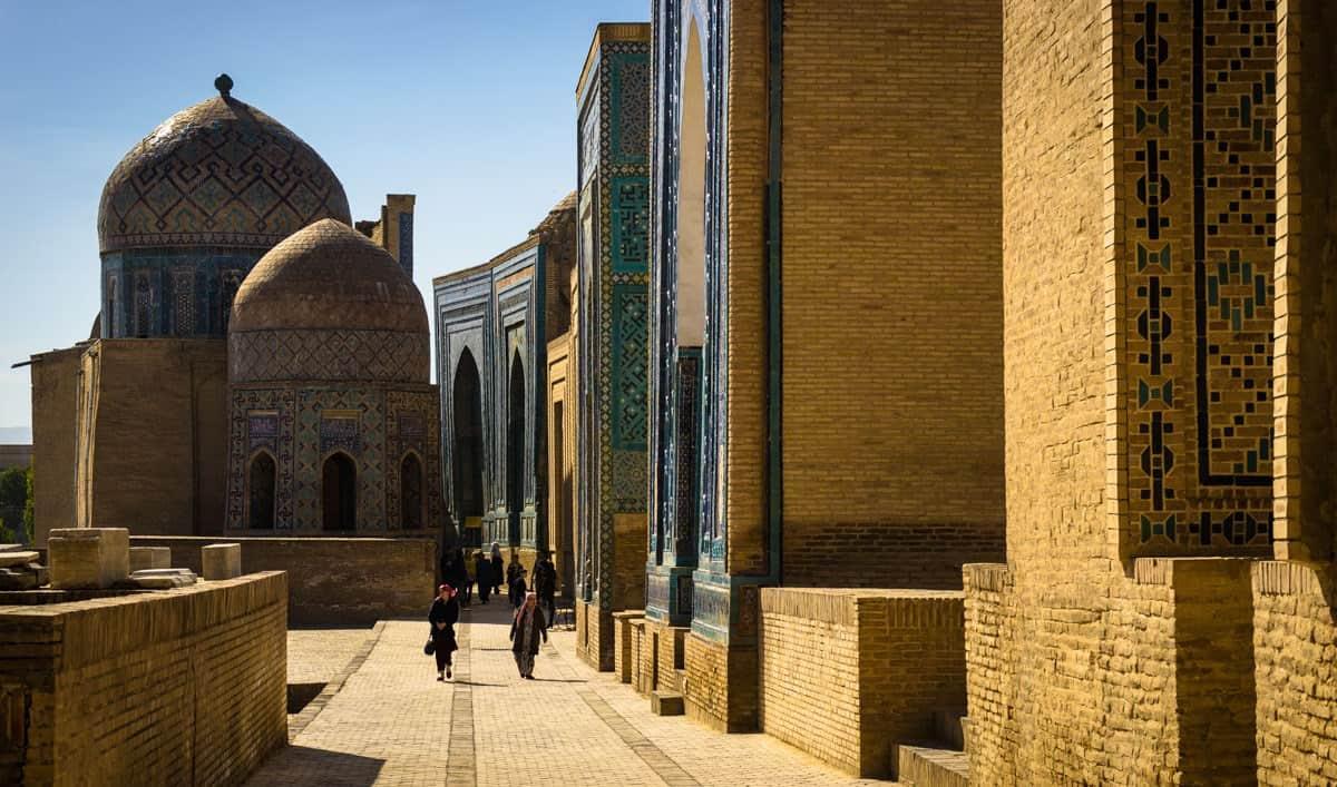 Necropolis Samarkand Uzbekistan Photography