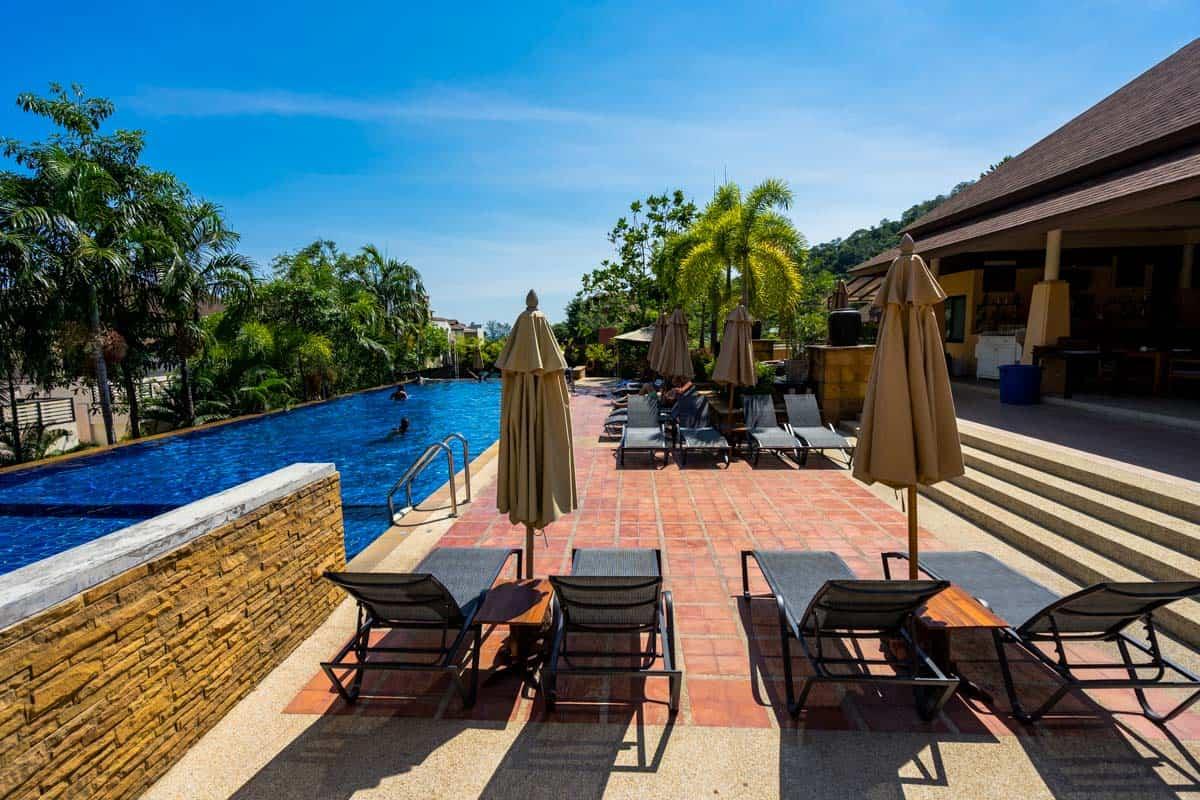Infinity Pool Ao Nang Cliff Beach Resort Review