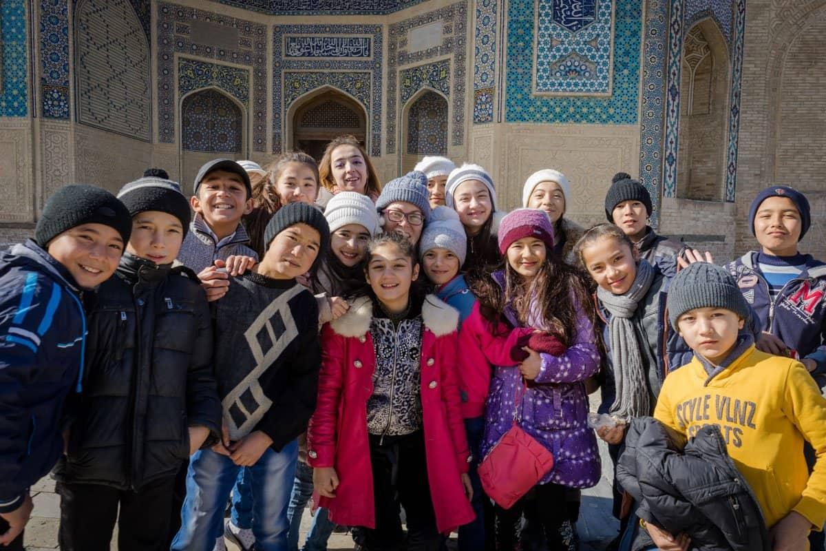 Kids Uzbekistan Photography