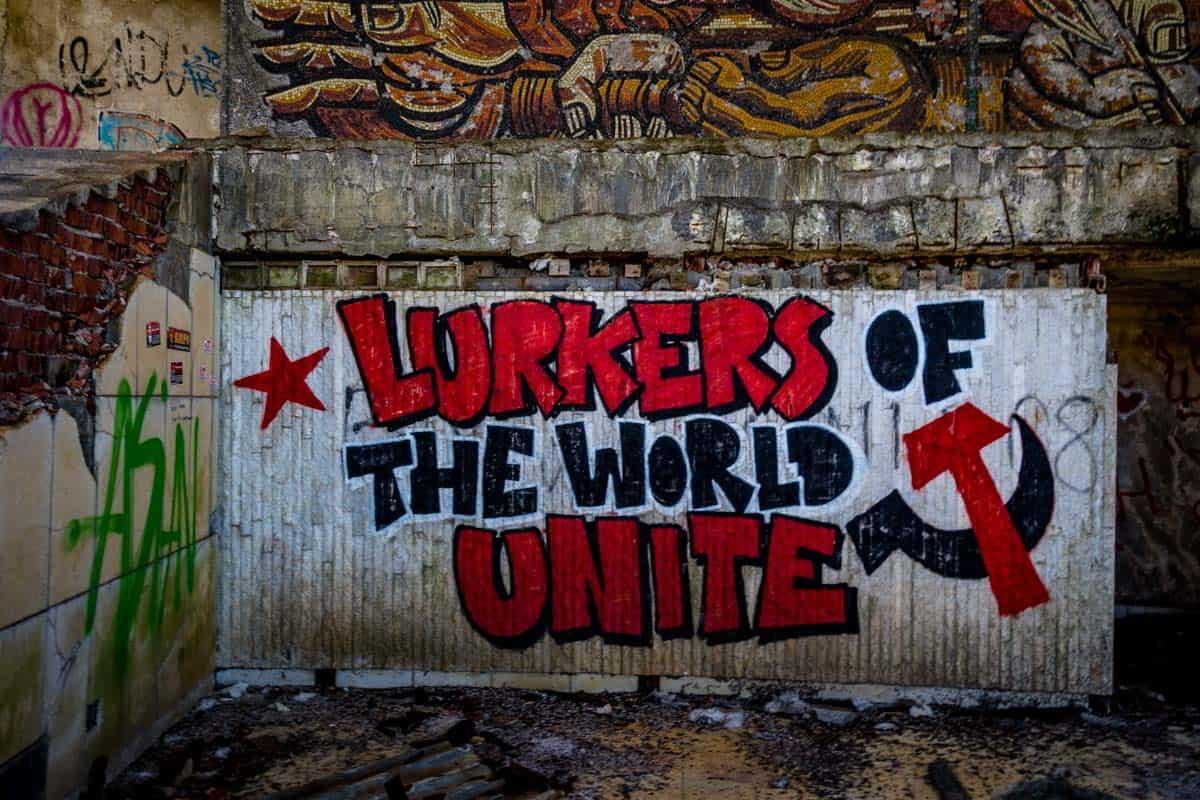 Lurkers Buzludzha Monument Bulgarian Communist Party Headquarters Ufo