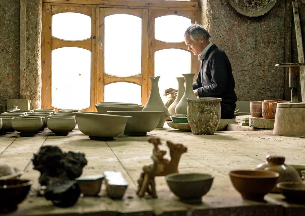 Bukhara Ceramics Uzbekistan Photography