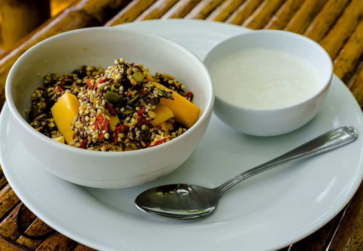 Organic Muesli The Sanctuary Koh Phangan Yoga Retreat