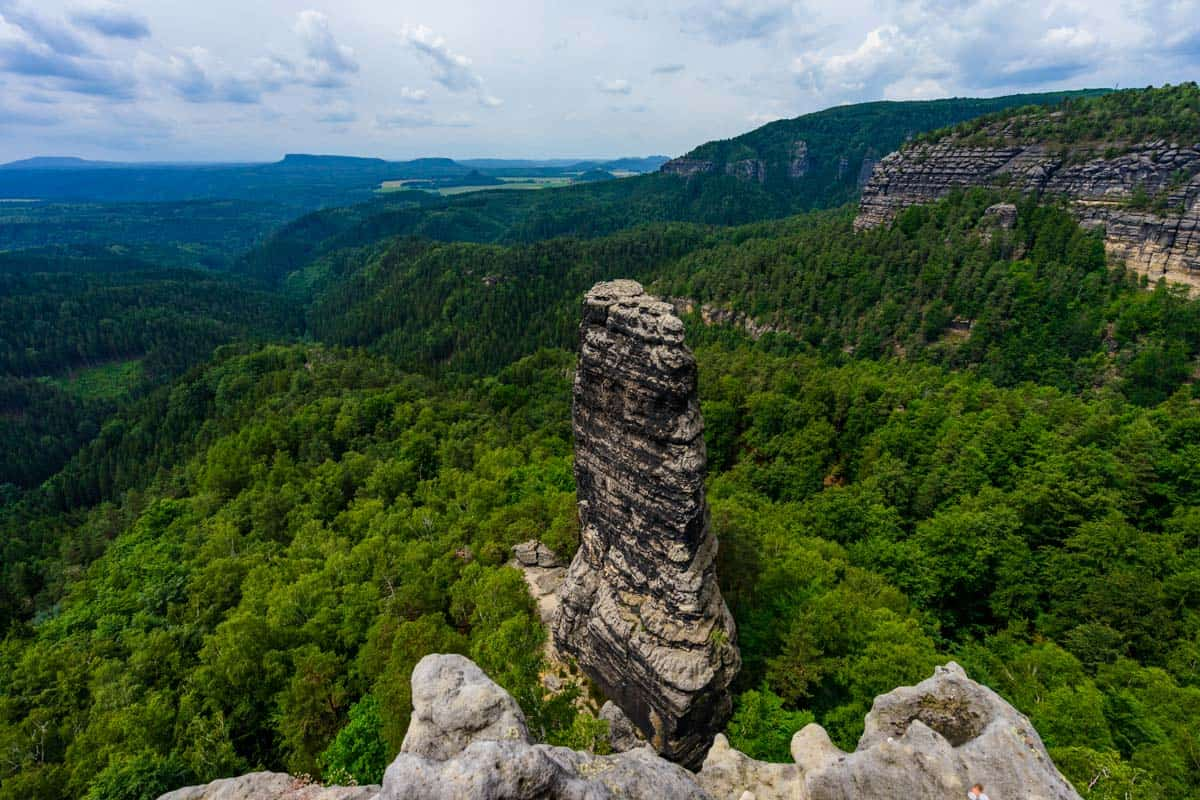 Pinnacle Hiking Bohemian Switzerland National Park