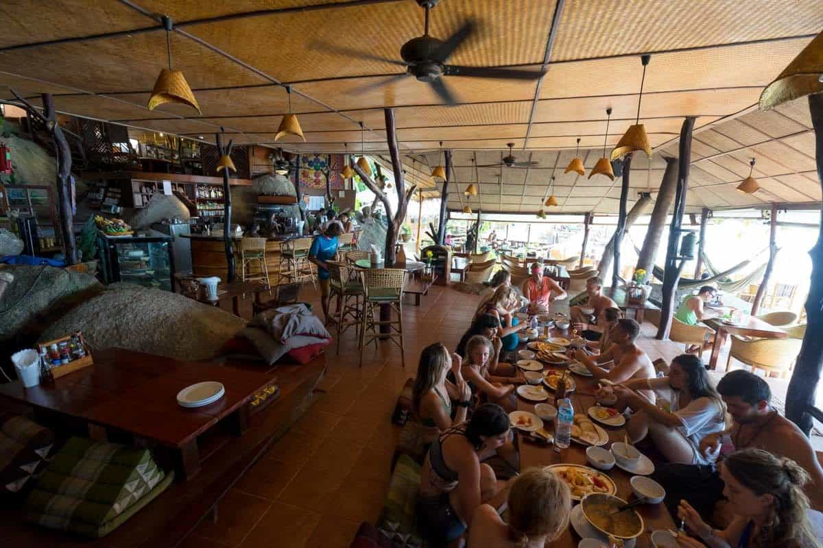 Restaurant The Sanctuary Koh Phangan Yoga Retreat