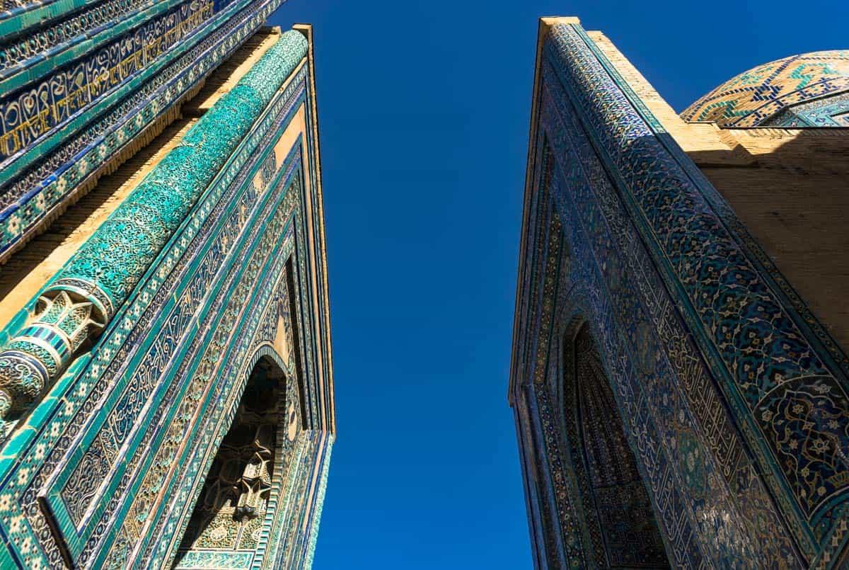 Shaki Zinda Complex Uzbekistan Photography